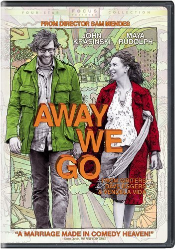 Away We Go Krasinski Rudolph DVD R