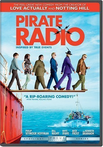 Pirate Radio Hoffman Frost Nighy Branagh DVD R