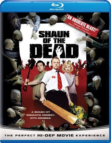 Shaun Of The Dead Pegg Frost Ashfield Blu Ray R