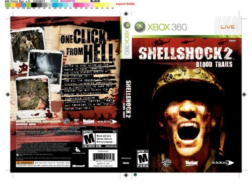 Xbox 360 Shellshock 2 Blood Trails
