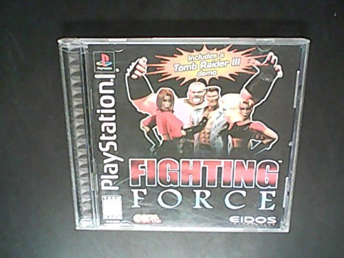 Psx Fighting Force 3d T