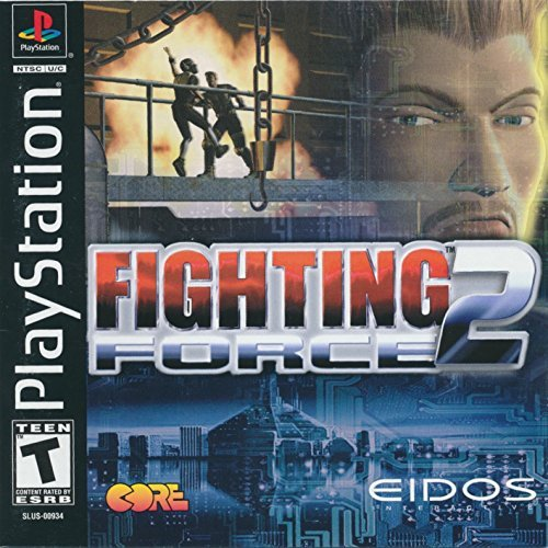 Psx Fighting Force 2 T
