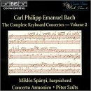 C.P.E. Bach/Comp Con(S) Kbd Vol. 3@Spanyi*miklos (Hpd)@Szuts/Con Armonico