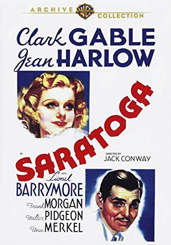 Saratoga (1937) Harlow Gable Barrymore