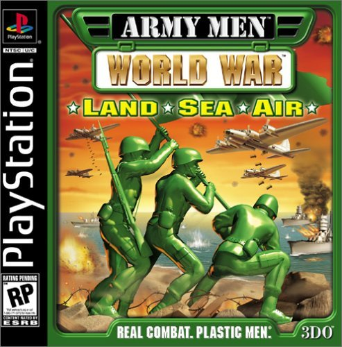 Psx Army Men World War Land Sea Air