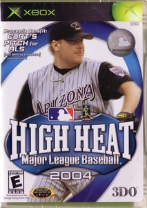 Xbox High Heat Baseball 2004