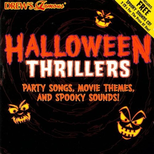Drew's Famous Party Music Halloween Thrillers 2 CD Set Drew's Famous Party Music