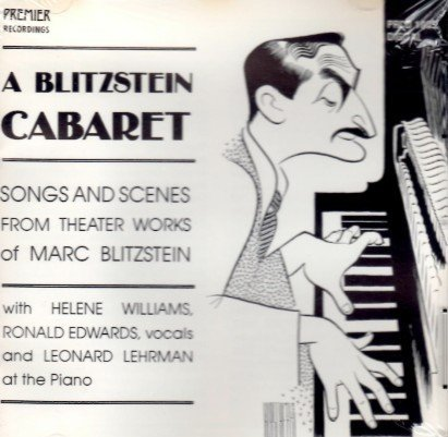 Williams/Edwards/Lehrman/Blitzstein Cabaret