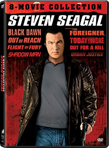 Bull Moose. Steven Seagal 8 Movie Collection DVD