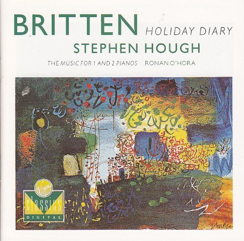 Hough O'hara Britten Music For 1&2 Pianos