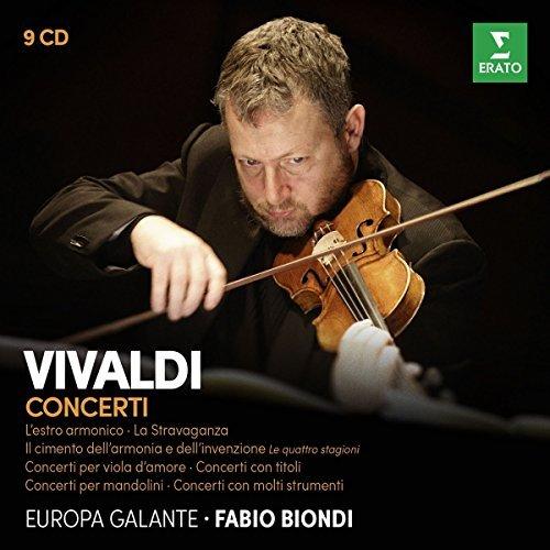 Fabio Biondi/Vivaldi: Il cimento dell'armonia e dell'inventione, L'estro armonico, La Stravaganza, Concerti con molti strumenti