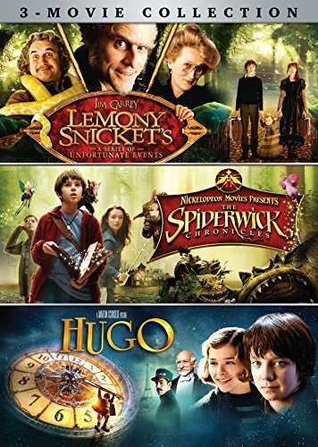 Lemony Snicket's Spiderwick Chronicles Hugo 3 Movie Collection DVD