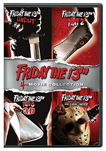 Friday The 13th Deluxe 4 Pack DVD Nr