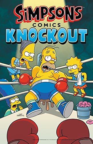Matt Groening Simpsons Comics Knockout