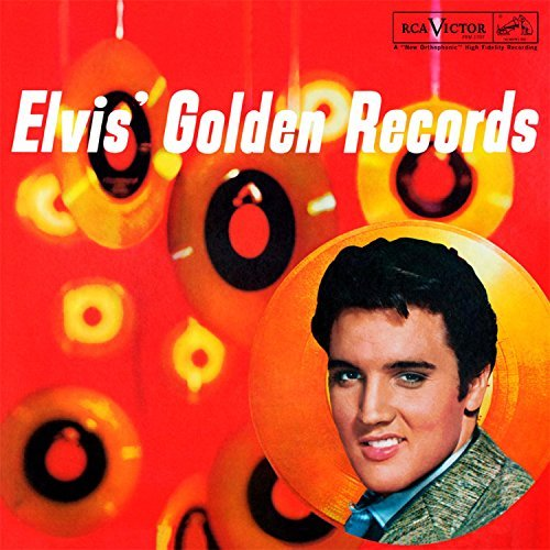 Elvis Presley Golden Records Vol. 1 180 Gram Audiophile Red Vinyl Gatefold Cover Limited