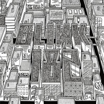 Blink 182 Neighborhoods (black + White Vinyl)