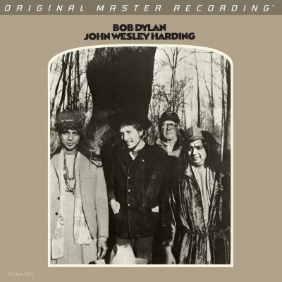 Bob Dylan John Wesley Harding Mono Limited Numbered To 3000
