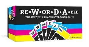 Rewordable Uniquely Fragmented Word Game