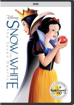 Snow White & The Seven Dwarfs Disney DVD G