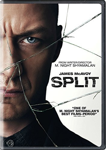 Split Mcavoy Taylor Joy DVD Pg13