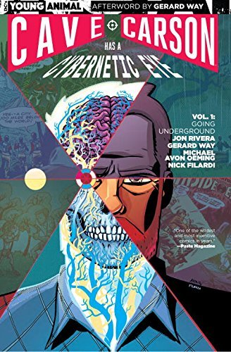Gerard Way Cave Carson Has A Cybernetic Eye Vol. 1 Going Underground