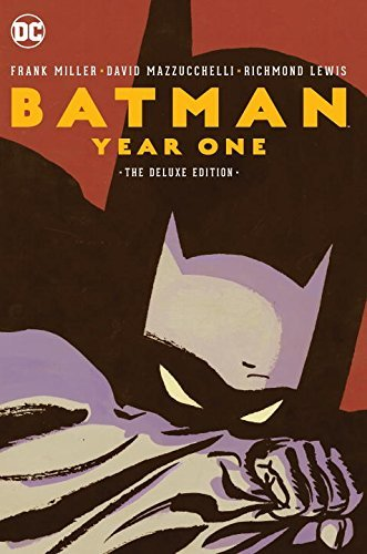 Frank Miller Batman Year One Deluxe Edition Year One Deluxe Edition