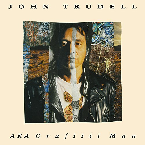 John Trudell Aka Graffiti Man 2 Lp 180 Gram Transparent Red Includes Download Card Record Store Day Exclusive