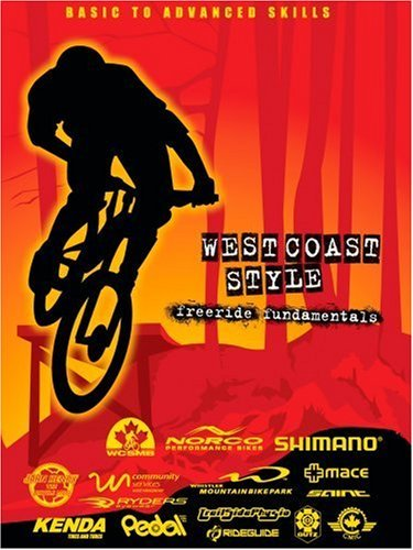 West Coast Style Freeride Fundamentals A Mountai Bike DVD