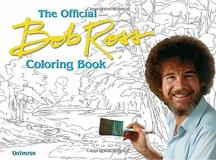 Bob Ross The Bob Ross Coloring Book