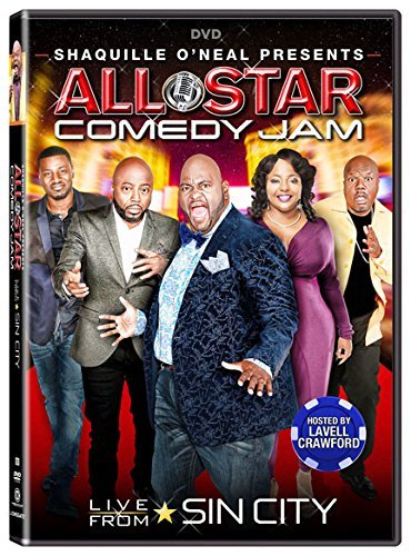 Shaquille O'neal Presents All Star Comedy Jam Live From Sin City DVD