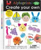 Roger Priddy Alphaprints Create Your Own A Sticker And Doodle Activity Bo