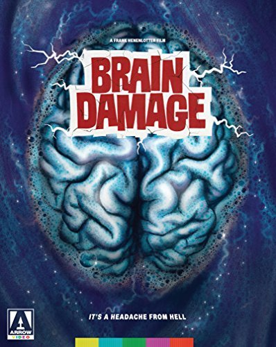 Brain Damage Hearst Lowry Blu Ray DVD Nr