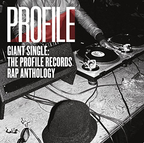Giant Single Profile Records Rap Anthology Vol. 1 2 Lp 150g Vinyl Red Vinyl Quantity 2500