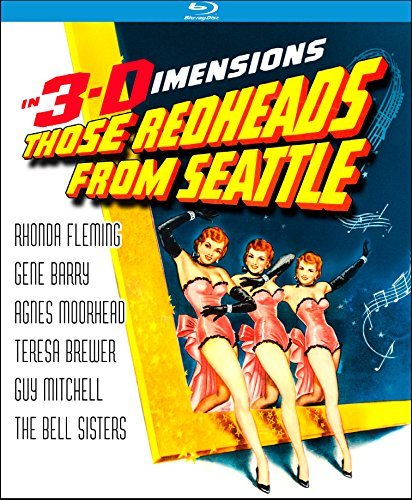 Those Redheads From Seattle Fleming Barry Moorehead Blu Ray Nr
