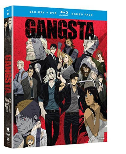 Gangsta The Complete Series Blu Ray DVD