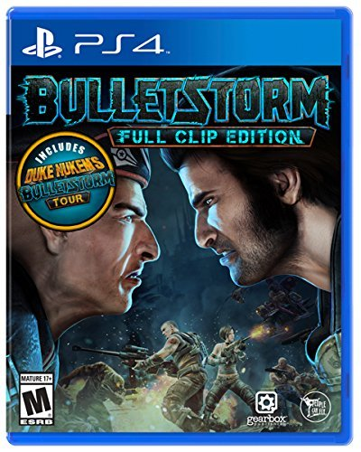 Ps4 Bulletstorm Full Clip Edition