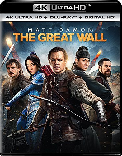 The Great Wall Damon Jing Dafoe 4khd Pg13