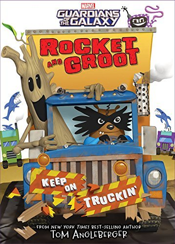 Tom Angleberger Rocket And Groot Keep On Truckin'!