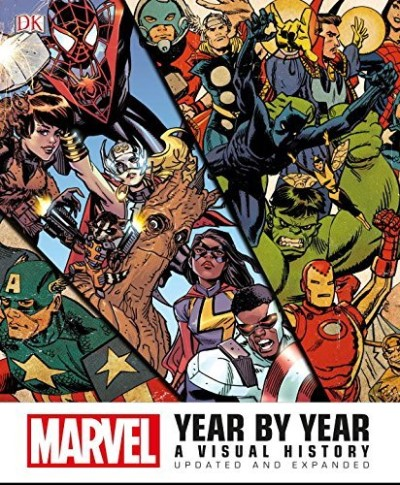 Peter Sanderson Marvel Year By Year
