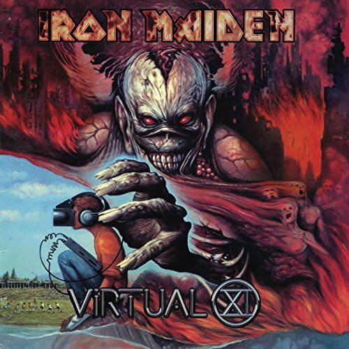 Iron Maiden Virtual Xi 2 Lp Set 180 Gram Vinyl