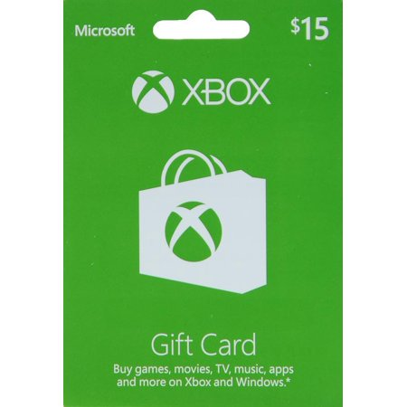 Xbox One Accessory $15 Xbox Gift Card