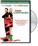 Four Christmases Vaughn Witherspoon Favreau DVD Pg13