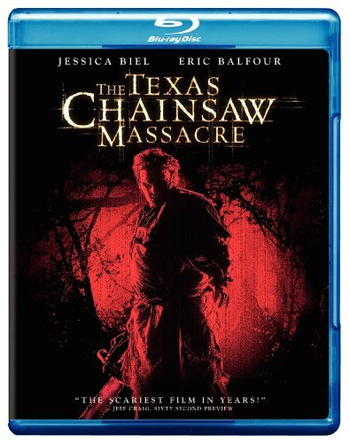 Texas Chainsaw Massacre (2003) Biel Tucker Balfour Ermey Blu Ray R