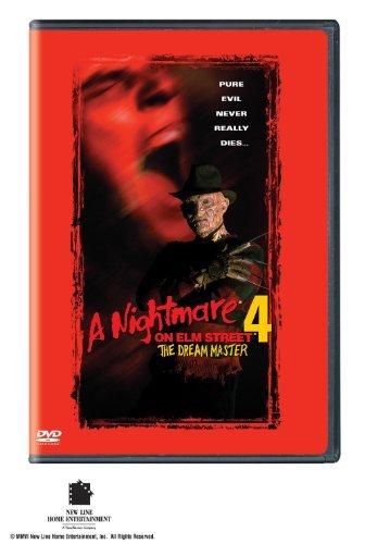 Nightmare On Elm Street 4 Dream Master Englund Eastman Hassel Jones DVD R Ws