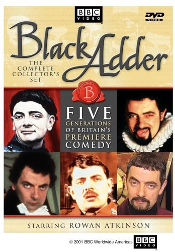 Black Adder Complete Collection Clr Nr 5 DVD