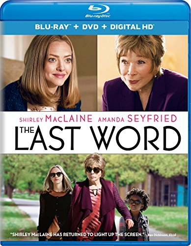 The Last Word Maclaine Seyfried Blu Ray DVD Dc R