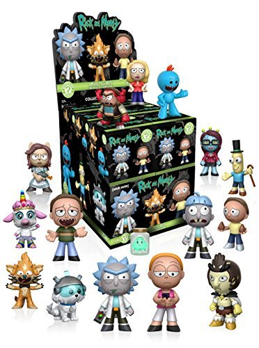 Figurine Funko Mystery Mini Rick And Morty Series 1 One Mys