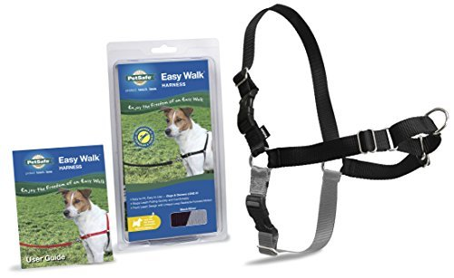 Easy Walk Harness Pet Sml Black