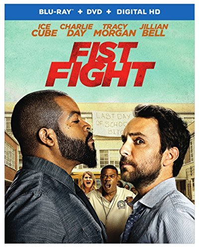 Fist Fight Ice Cube Day Morgan Blu Ray DVD Dc R