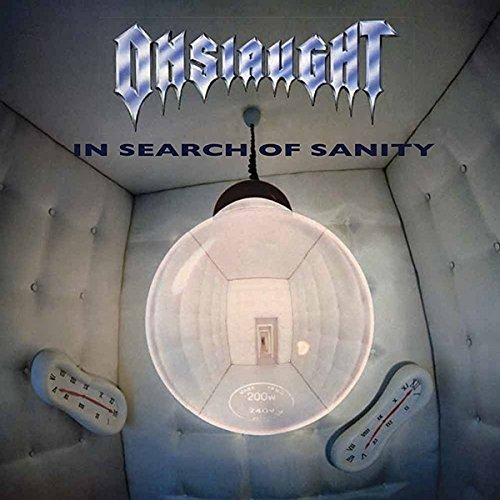Onslaught/In Search Of Sanity@Import-Gbr@2lp Clear Vinyl